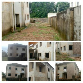 80% Completed 6 Bedroom Duplex with 2 Rooms Bq, Besides Suncity Estate, Lokogoma District, Abuja, Detached Duplex for Sale