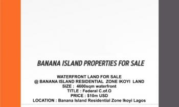 Exclusive Residential Lands, Banana Island, Ikoyi, Lagos, Residential Land for Sale