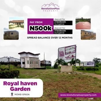 a Plots of Land, Royal Haven Garden, Owode, Obafemi Owode, Ogun, Residential Land for Sale