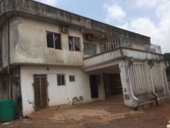 Massive 14 Rooms Detached Duplex with Bq, Community Estate Layout Around Cbn Quarters Towards Dental School Road, Trans Ekulu, Enugu, Enugu, Detached Duplex for Sale