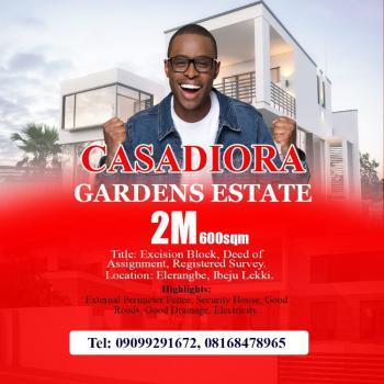 Land, Casadiora Gardens Estate, Eleranigbe, Ibeju Lekki, Lagos, Land for Sale