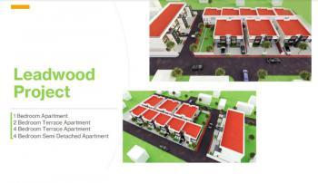 Luxury 4 Bedroom Terrace + Bq in a Serviced Estate, Buena Vista, Lafiaji, Lekki, Lagos, Terraced Duplex for Sale