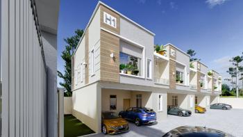 Cheap Smart Home Four Bedroom Duplex, Lekki County, Ikota After Orchid, Chevron, Agungi, Lekki, Lagos, Terraced Duplex for Sale