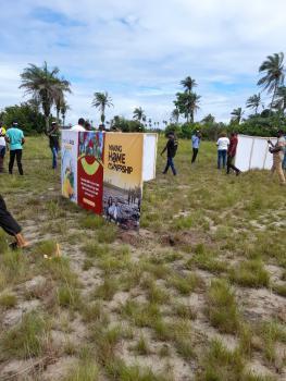 Plots of Land, Onynx Pride 2, Beside Lacampagne Tropicana Beach Resort, Ikegun, Ibeju Lekki, Lagos, Mixed-use Land for Sale