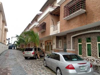a Neatly and Massively Built 4 Bedroom Terrace with a Bq, Agungi, Lekki, Lagos, Terraced Duplex for Rent