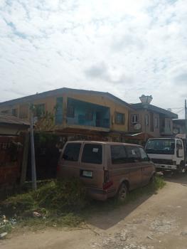 Block of 3 Flats of  2 Units of 4 Bedroom and 2 Bedroom Flat Bq, Off Masha Road, Masha, Surulere, Lagos, Block of Flats for Sale