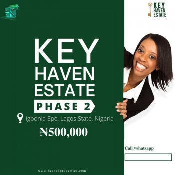Cheap Land, Key Haven Estate Phase 2, Igbonla, Epe, Lagos, Mixed-use Land for Sale