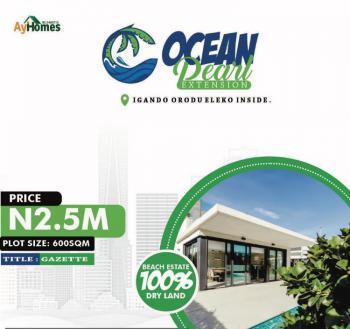 Cheap Land, Ocean Pearl Estate Extension, Igando Orudu, Eleko, Ibeju Lekki, Lagos, Residential Land for Sale