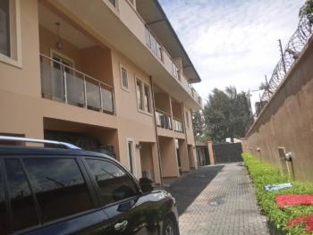 Self Service 5 Bedrooms Terraced Duplex with a Room Bq, Parkview, Ikoyi, Lagos, Terraced Duplex for Rent