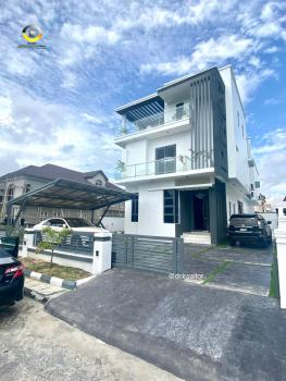 Contemporary 5 Bedroom Fully Detached Duplex with Cinema, Elevato/pool, Osapa, Lekki, Lagos, Detached Duplex for Sale