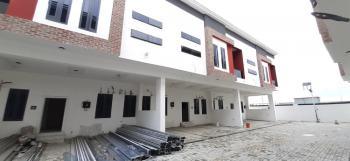Luxuriously Finished 4 Bedroom Terrace Duplex, Serviced Estate, Chevron Toll Gate, Lekki Expressway, Lekki, Lagos, Terraced Duplex for Rent