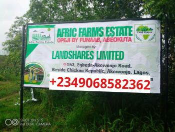 Agricultural Land with C of O, Afric Farm Estate, Opeji By Unaab, Abeokuta North, Ogun, Commercial Land for Sale
