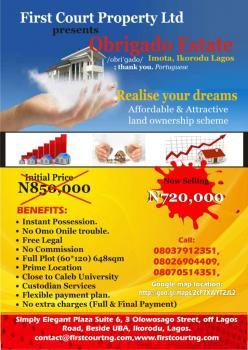 Plot of Land (close to Caleb University), Imota , Ikorodu., Abule Onigbagbo, Oko Igbo, Close to Caleb University, Imota, Ikorodu, Lagos, Residential Land for Sale