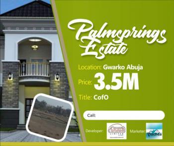 Estate Land in Prime Location - Palmsprings Estate, Near Ty Danjuma Academy, Gwagwalada, Abuja, Residential Land for Sale