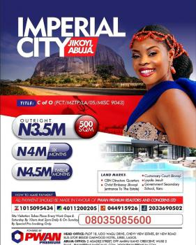Imperial City Estate, Jikwoyi, Abuja, Residential Land for Sale