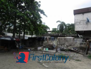 1260sqm Commercial Land with Dilapidated Buildings, Off Adeola Hopewell Street, Victoria Island (vi), Lagos, Commercial Land for Sale
