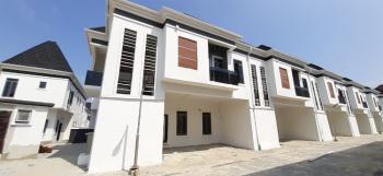 Luxuriously Finished 4 Bedrooms Terraced Duplex, Chevron Toll Gate, Lekki Expressway, Lekki, Lagos, Terraced Duplex for Rent