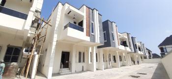Serviced Magnificently Built 4 Bedrooms Terraced Duplex with Bq, Chevron Toll Gate, Lekki Expressway, Lekki, Lagos, Terraced Duplex for Sale