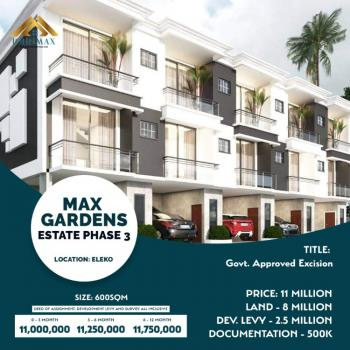 Estate Land in Prime Location, Beside Amen Estate Phase 2, Eluju, Ibeju Lekki, Lagos, Residential Land for Sale