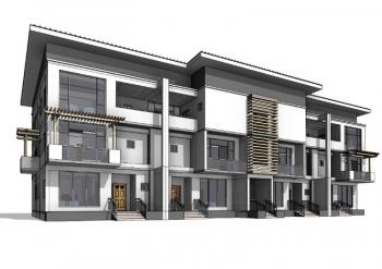 Luxury Finished 4 Bedroom Terraced Duplex, Turkish/nizamiye Hospital, Just Behind Citec Mbora Estate., Karmo, Abuja, Terraced Duplex for Sale
