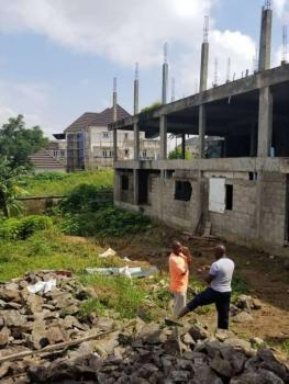 5-bedroom Twin Duplex Uncompleted Structure, Asokoro District, Abuja, Semi-detached Duplex for Sale