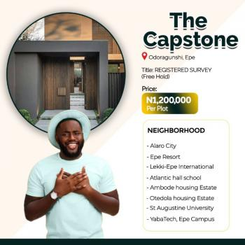 Affordable Dry Land, The Capstone Odoragunshi, Epe, Lagos, Residential Land for Sale