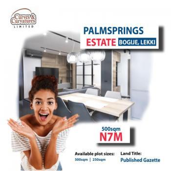 Dry Land, Palmsprings Estate, Bogije, Ibeju Lekki, Lagos, Residential Land for Sale
