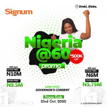 Signum Estate, Eleko, Ibeju Lekki, Lagos, Commercial Land for Sale