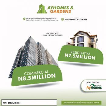 Affordable Dry Land, Ayhomes and Gardens, Before Eleko Junction, Igando Orudu, Ibeju Lekki, Lagos, Mixed-use Land for Sale