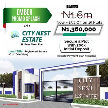 Dry Land, City Nest Estate,, Epe, Lagos, Residential Land for Sale