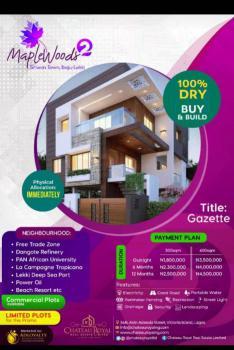 100% Dry Land, Mapple Wood Estate 2, Siriwon Town, Ibeju Lekki, Lagos, Residential Land for Sale