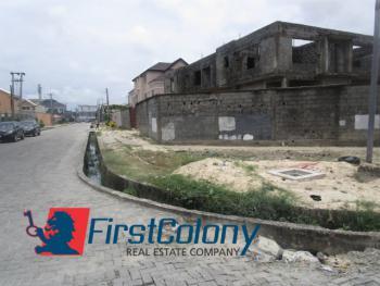1408sqm Corner-piece Land with 4 Uncompleted Duplexes, Block 124 Plot 18, Adewale Kolawole Crescent, Off T.f. Kuboye, Lekki Phase 1, Lekki, Lagos, Residential Land for Sale