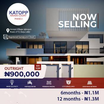 Cheap Land, Katopp Haven Court Phase 2 Imosan Village Igbogun Road Lftz, Okun Imosan, Ibeju Lekki, Lagos, Residential Land for Sale