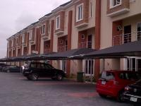 Well Finished 4 Bedrooom Terrace In Abiola Court, Chevy View Estate, Lekki, Lagos, 4 bedroom, 5 toilets, 4 baths Terraced Duplex for Rent