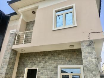 Well Finished 4 Bedrooms Semi Detached Duplex with a Room Bq., Osapa, Lekki, Lagos, Semi-detached Duplex for Rent