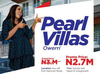 Land, Pearl Villas Estate, Along Port Harcourt Road, Avu, Owerri, Imo, Mixed-use Land for Sale