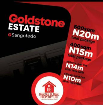 Residential Land with C of O, Goldstone Estate, Sangotedo, Ajah, Lagos, Residential Land for Sale