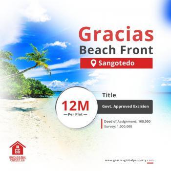 Land, Gracias Beach Front, Sangotedo, Ajah, Lagos, Residential Land for Sale