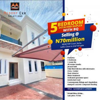 Luxurious 5 Bedroom Duplex with Bq, Cnl Court, Ikota, Lekki, Lagos, Detached Duplex for Sale