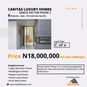 Land, Off Lekki-epe Expressway, Caritas Luxury Homes  *grace Factor Phase 2, Olokonla, Ajah, Lagos, Residential Land for Sale