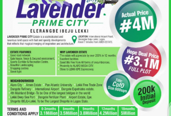 Dry Land with C of O, Own a Land Close to The Proposed Intl Airport, Shares Proximity with Alaro Mega City,10mins Drive From Pan Atlantic U, Eleranigbe, Ibeju Lekki, Lagos, Land for Sale