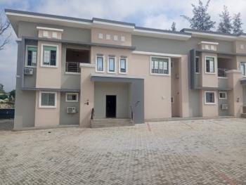 Newly Built 6 Units of 4 Bedroom Terrace with a Bq, Life Camp, Abuja, Terraced Duplex for Rent