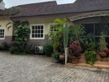 a 5 Bedroom Bungalow with 2 Rooms Bq Sitting on 1,300sqm, Asokoro District, Abuja, Detached Bungalow for Sale