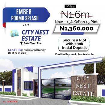 Land, Citynest, Epe, Lagos, Residential Land for Sale