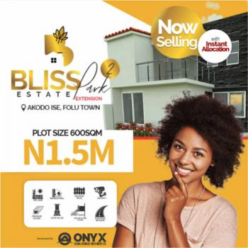 Good Land with Extension*, Bliss Park Estate 2 , Lacampange Tropicana Resort, Akodo Ise, Ibeju Lekki, Lagos, Mixed-use Land for Sale