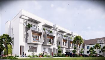 Serviced 4 Bedroom Terrace Duplex with Bq, By Enyo Filling Station, Ikate, Lekki, Lagos, Terraced Duplex for Sale