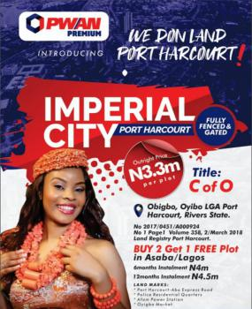 Certificate of Occupancy, Oyigbo, Rivers, Residential Land for Sale