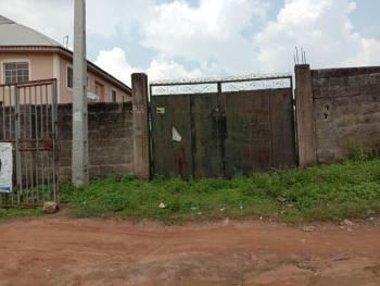 a Fence Gated Plot of Land with Uncompleted 2 Bedroom Bungalow, Olowofela, Magboro Off Lagos Ibadan Express Way, Magboro, Ogun, Residential Land for Sale