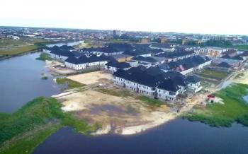 Beautiful Waterfront Buy & Build Land, Chevron, Lekki Expressway, Lekki, Lagos, Residential Land for Sale