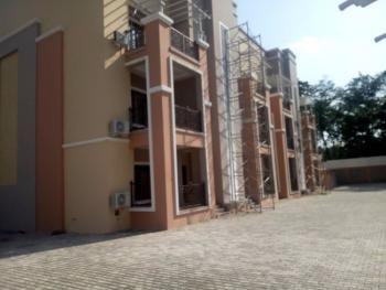 Luxury Service 3 Bedrooms Terrace Duplex with a Room Bq, Off Aminu Kano Crescent, Wuse 2, Abuja, Terraced Duplex for Rent